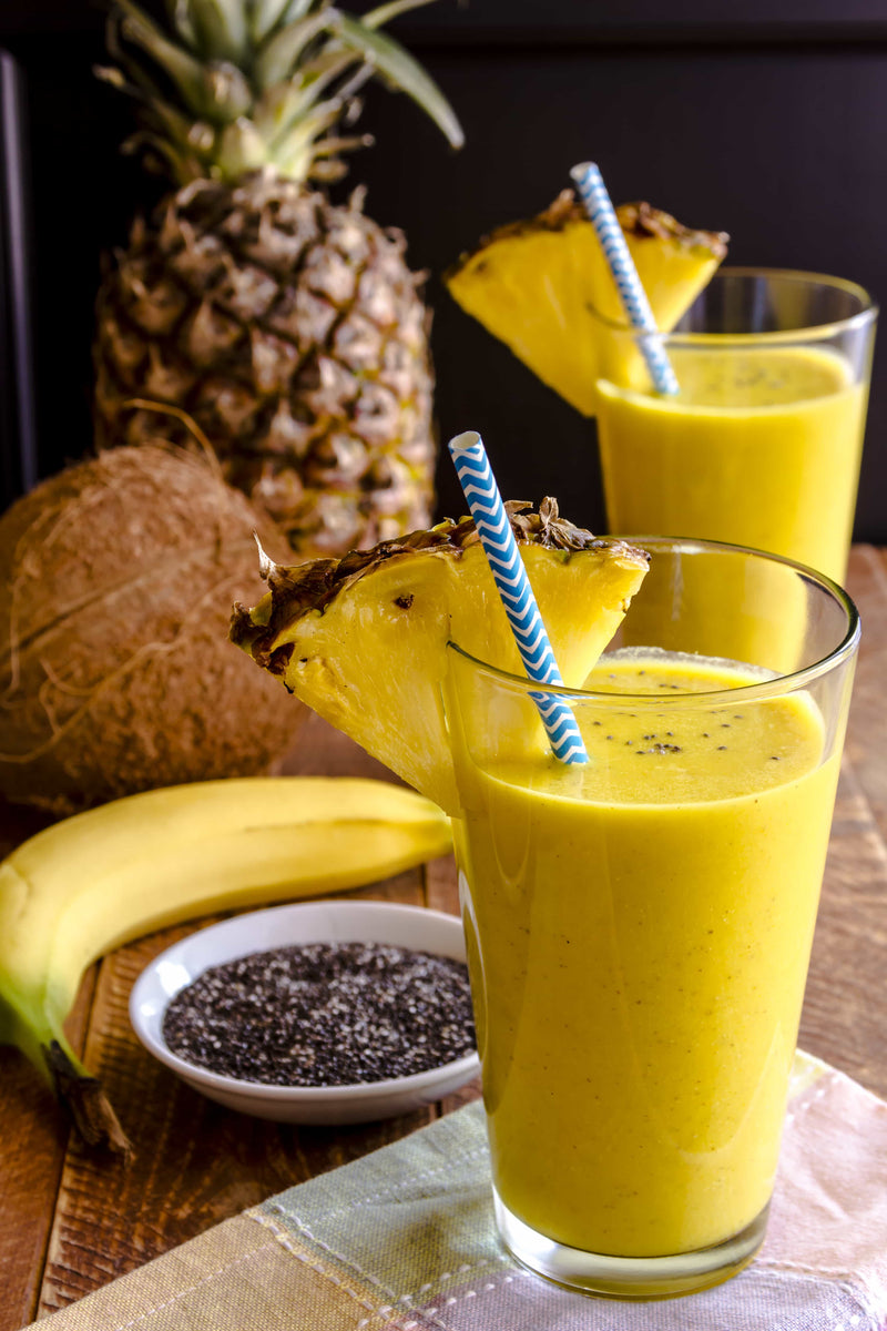 "Turmeric ""booster"" smoothies"
