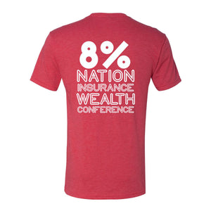 Are You in the 8% T-Shirt