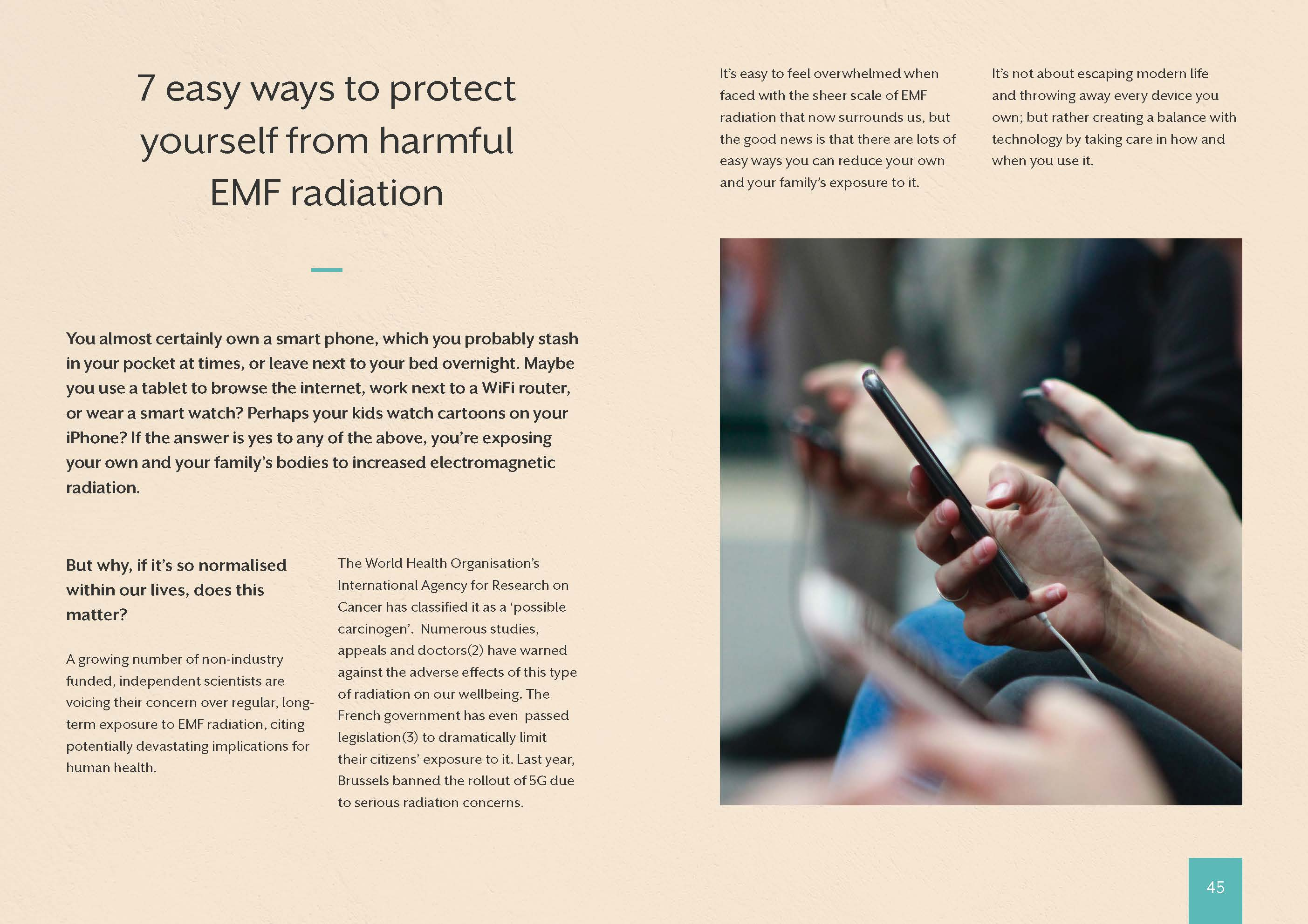 7 easy ways to protect yourself from harmful EMF radiation