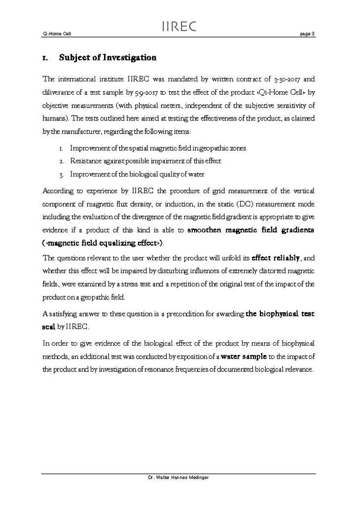 IIREC, International Institute for Research on Electromagnetic Compatibility - Page 3