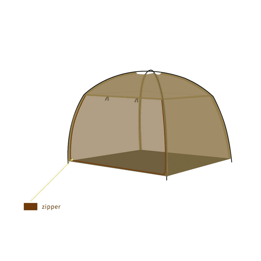 BlocSilver EMF Protection Easy-Assemble Bed Tent Canopy  | Conscious Spaces