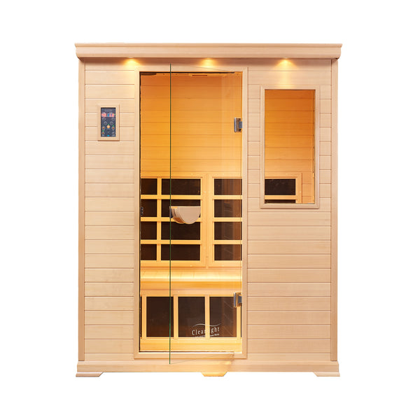 Clearlight Essential CE-3 — Three Person Far Infrared Sauna