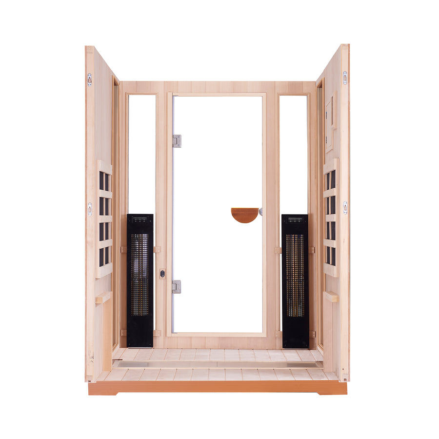 Clearlight Outdoor Sanctuary 2 — Two Person Outdoor Full Spectrum Sauna