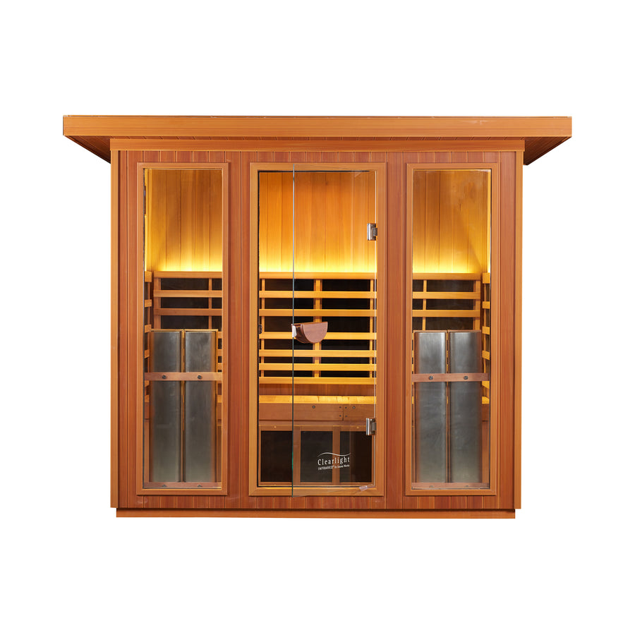 Clearlight Outdoor Sanctuary 5 — Five Person Outdoor Full Spectrum Sauna