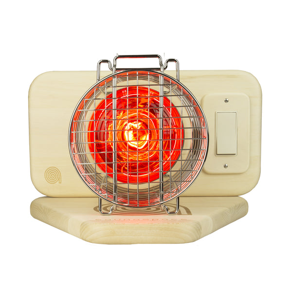 SaunaSpace® Photon red-filtered Incandescent light therapy