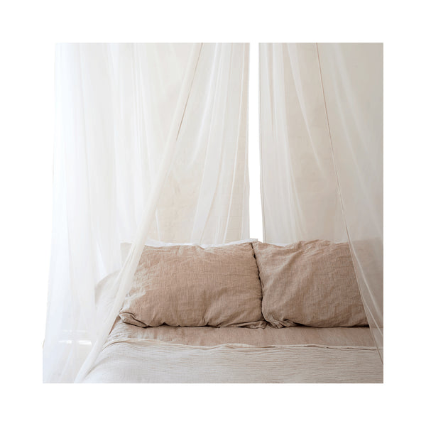 Luxury Swiss Shield Four-Poster EMF Protection Bed Canopy