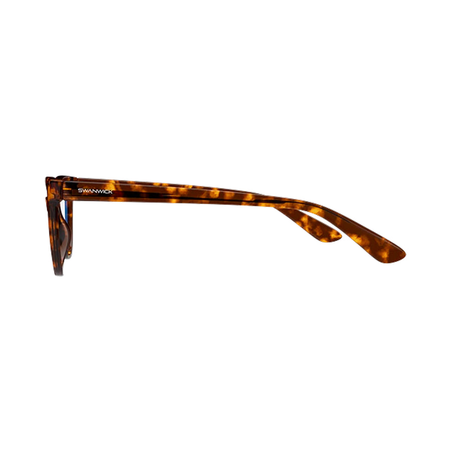 Cat Eye Swannies in Tortoise Shell - Side
