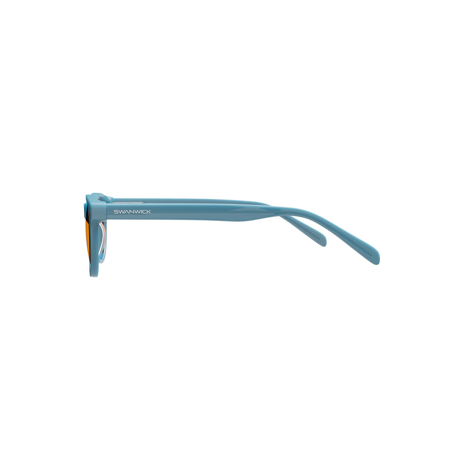 Kids Night Swannies - Blue Light Blocking Glasses - Blue Side
