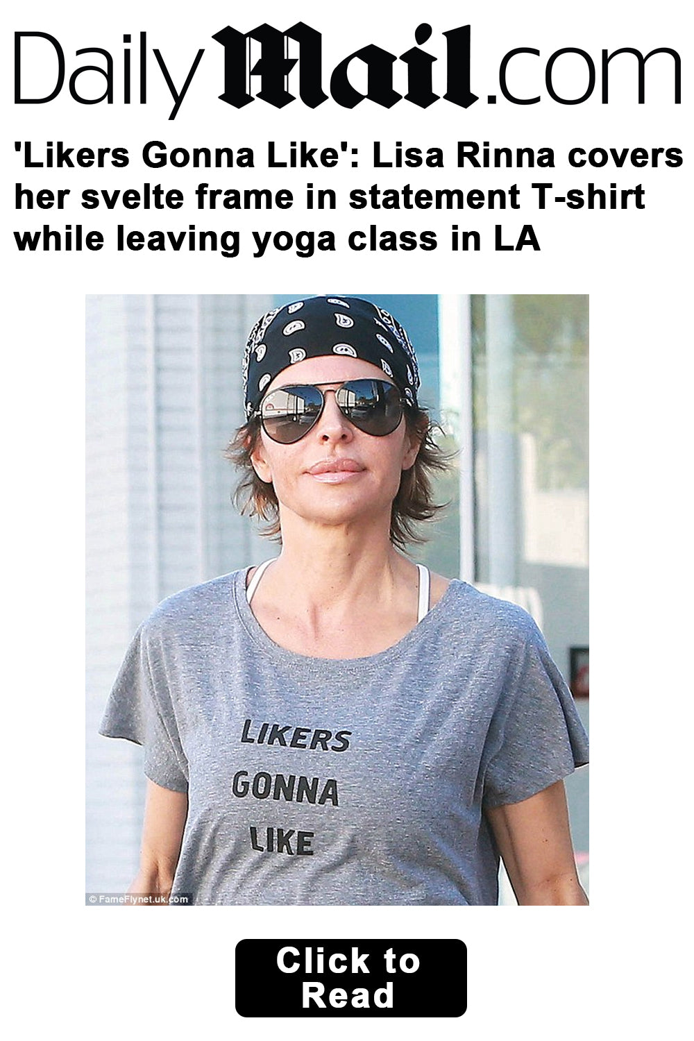SuperLoveTees in DailyMail.com with Lissa Rinna