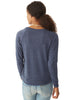 FREED(OM) - Navy Slouchy Pullover w/ Om Symbol