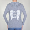 Spread Your Wings  - Wrap Cardigan Hoodie