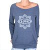 Let Your Love Shine - Dancer Neck Fleece Sweatshirt