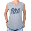 OM Grown -  Grey Muscle Tee