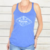 SACRED - Royal Blue Racer Back Tank