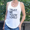 Trust Me, You're Lovely ~ Cotton Shirt Tail Tank