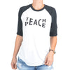 Teach Peace  -  Baseball Tee