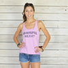 Grateful Heart Lilac Racer Back Tank