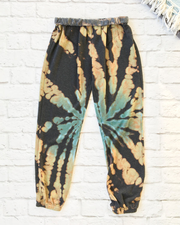 Super Soft Bleached and Tie Dye Pants