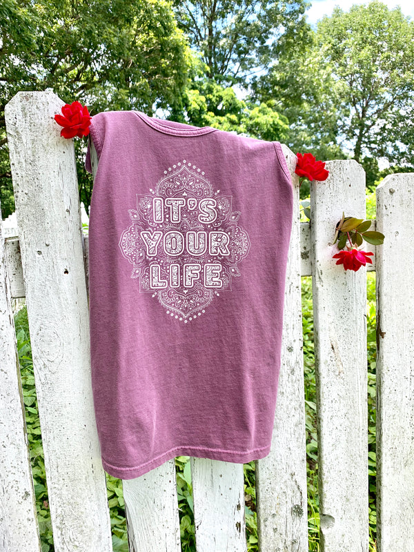 It's Your Life - Port Unisex Cotton Tank