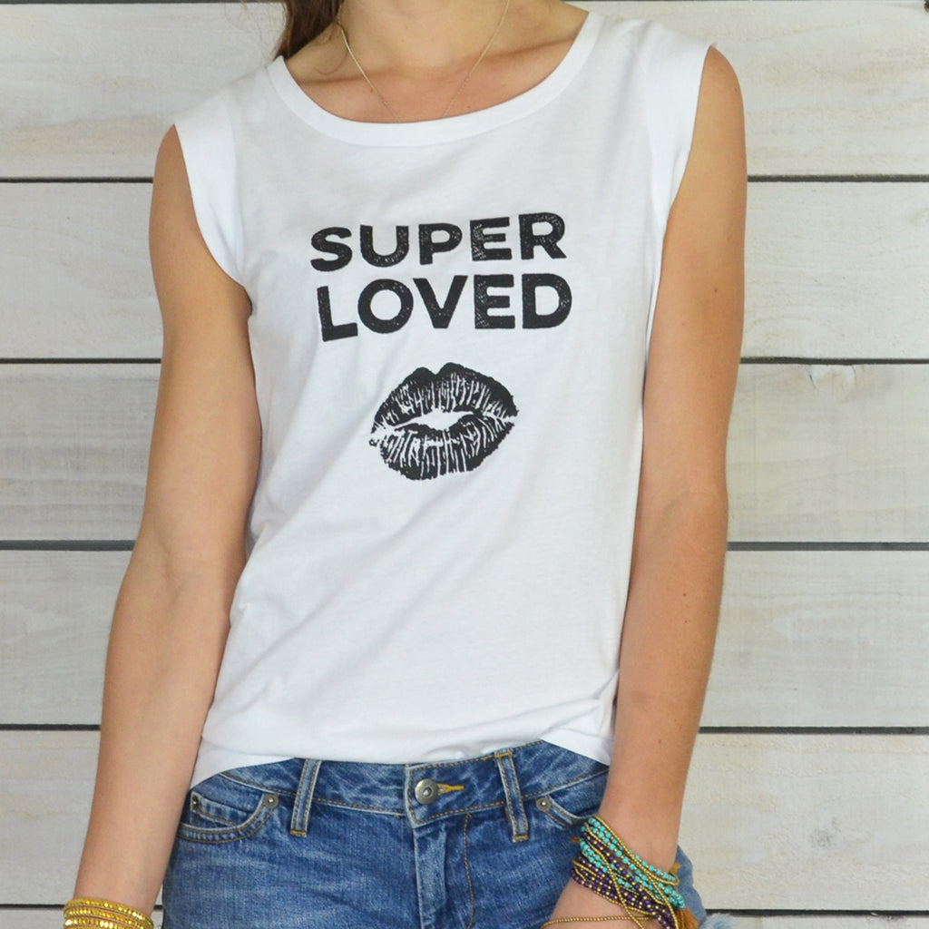 Super Loved - Girly Muscle Tee