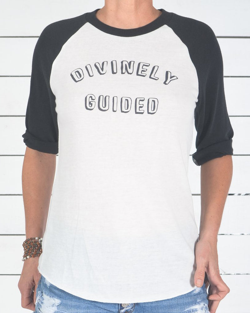 0021e535f Divinely Guided - Baseball Tee – SuperLoveTees | Graphic Tees ...