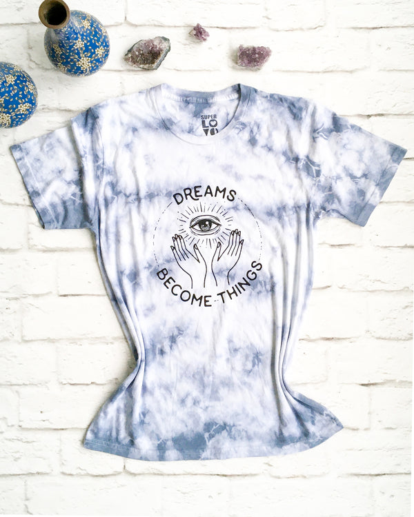 Dreams Become Things - Blue Cloud Unisex Tee