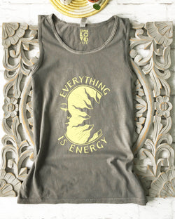Everything is Energy - Pepper Unisex Cotton Tank