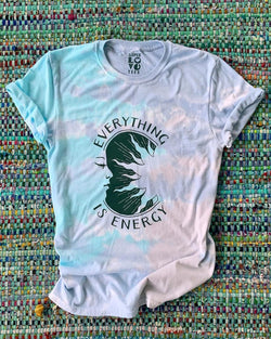 Everything is Energy - Green Dream Tie Dye Tee