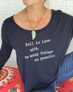 Fall In Love With As Many Things As Possible -  Pullover