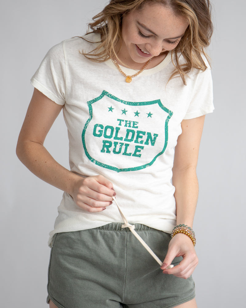 The Golden Rule - Hemp & Organic Cotton Tee