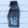 LOVE  -   Graphite Sand Washed Sweat Pants