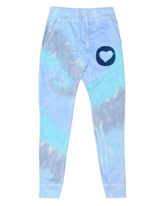 Tie Dye Sweatpants Pants - Blue Dream