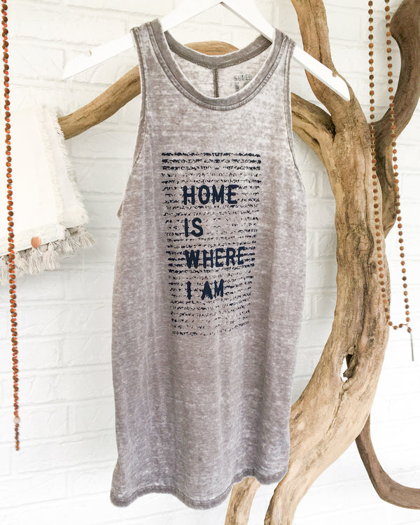 Home is Where I Am  - Cement Burnout Tank