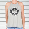 I Choose Love  - Sand Flowy Halter Tank