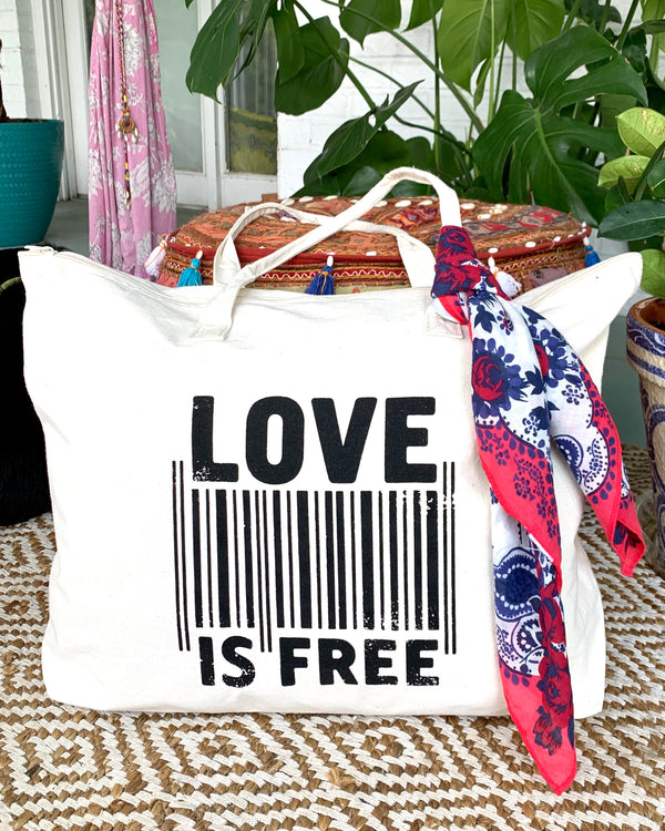 Love is Free - Carry All Bag