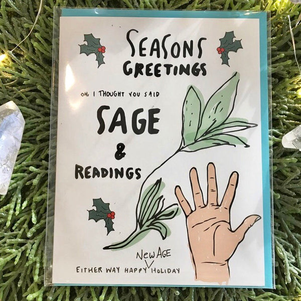 Season Greetings / Sage & Readings Holiday Card