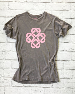Infinite Love -  Cotton Unisex Mineral Wash Tee