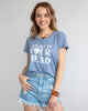 It's All in Your Head - Cornflower Blue Flowy Tee