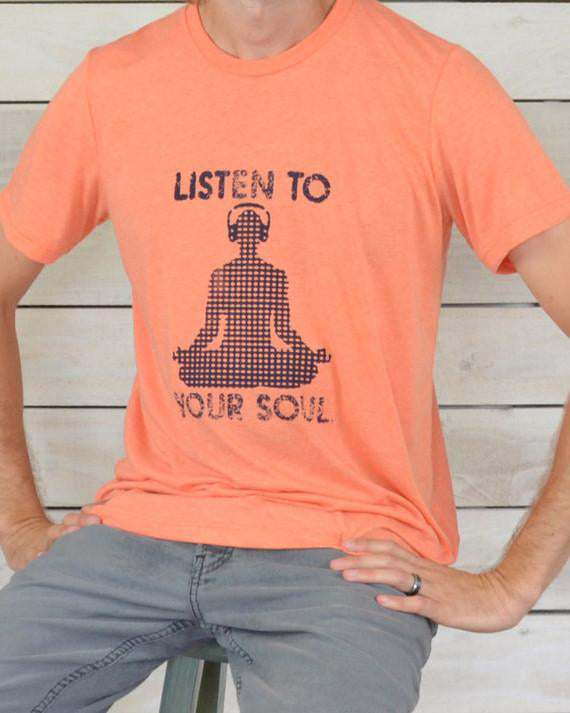 Listen To Your Soul - Men's Style Unisex Crewneck T-Shirt