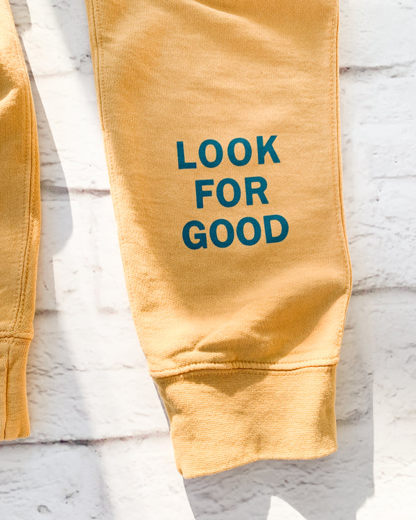 LOOK FOR GOOD -  GOLDEN COTTON JOGGER
