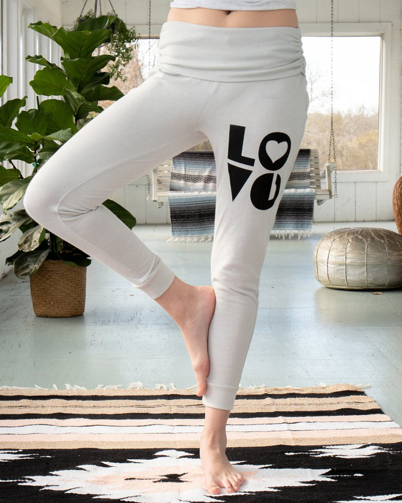 LOVE -  Dove Grey Lounge & Roam Pants