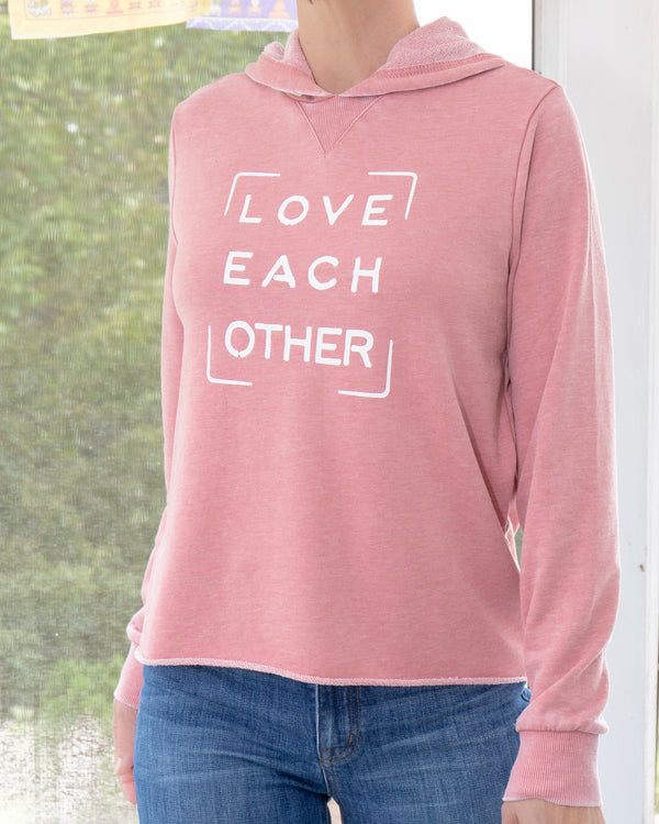Love Each Other - Desert Bloom Burnout Hoodie