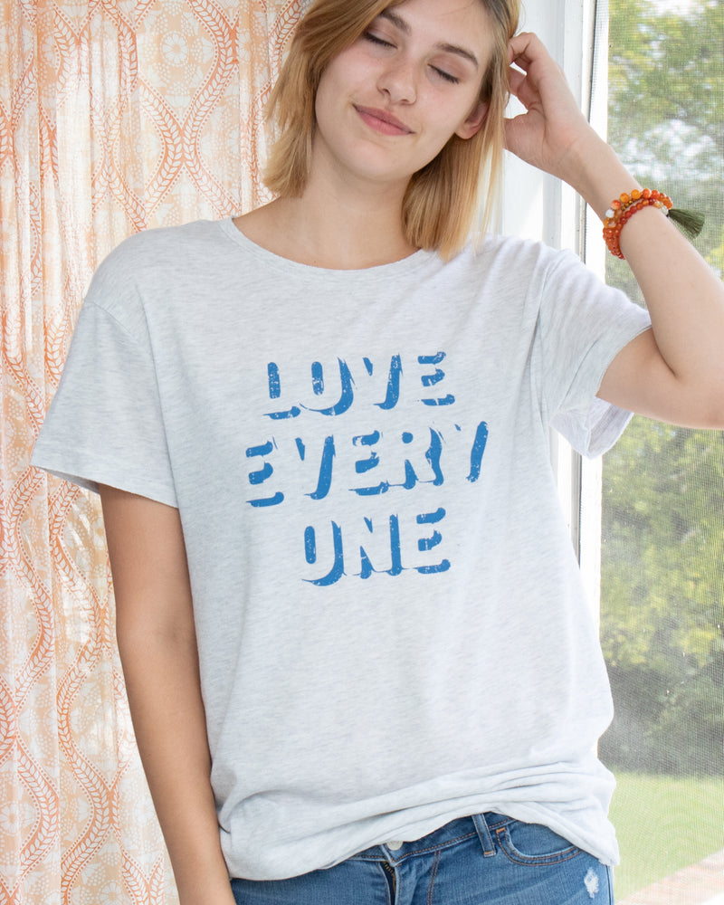 Love Every One ~  Soft Skater Tee