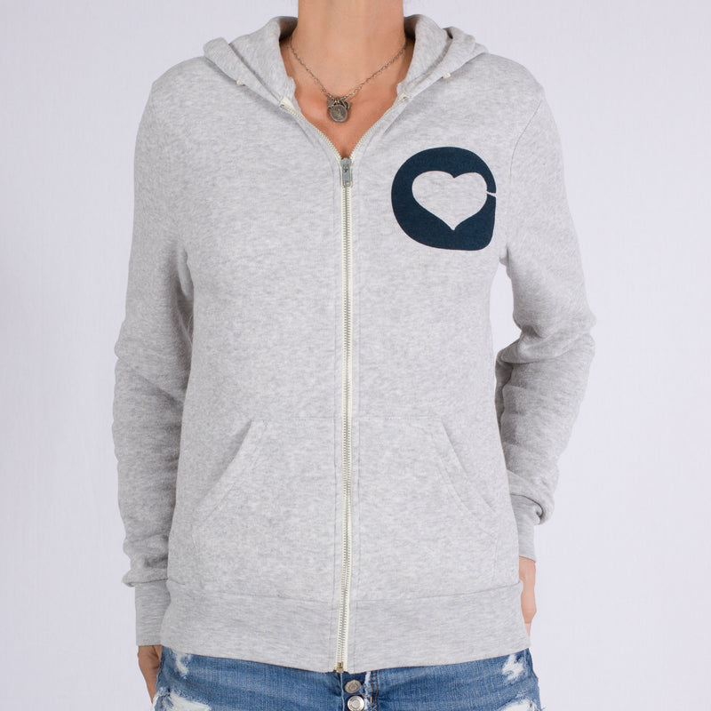 Love Is Why We Are Here - Unisex Oatmeal Hoodie