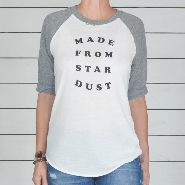 Made From Star Dust  -  Unisex Baseball Tee