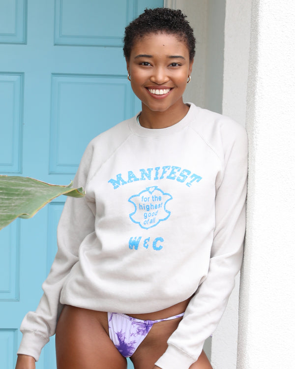MANIFEST - Soft Putty Sweatshirt