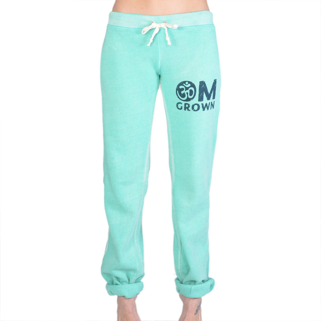 OM Grown - Jade Sand Washed Sweat Pants