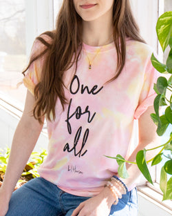 One For All - Sunset Tie Dye Tee