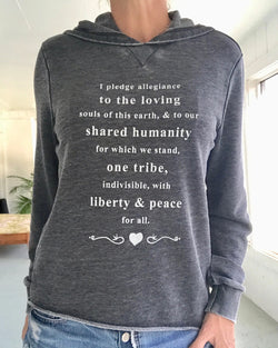 I Pledge Allegiance, To The Loving... - Burnout Hoodie