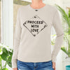 Proceed with Love - Sand Unisex Thermal